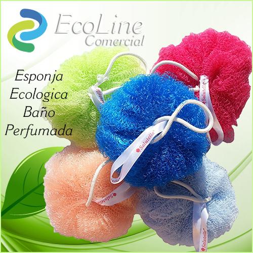 Productos Aseo Personal y Baño Esponja Ecologica Baño Perfumada Salutella