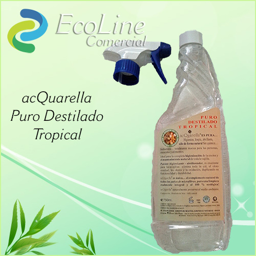 Productos Limpieza ACQuarella Puro Destilado Tropical