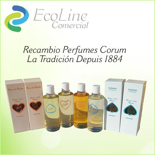 Perfumes Corum - Recambios