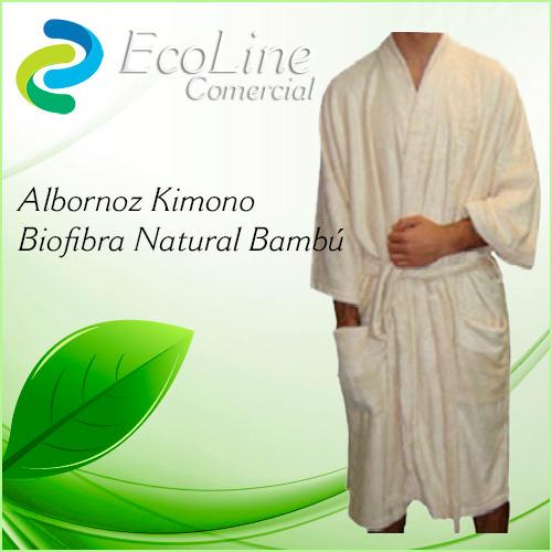 Productos Aseo Personal y Baño Albornoz Kimono Biofibra Natural Bambú