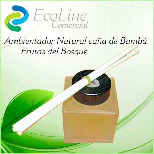 Pruductos Ambientadores Caña de Bambú Frutas del Bosque