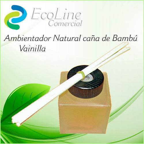 Pruductos Ambientadores Caña de Bambú Vainilla