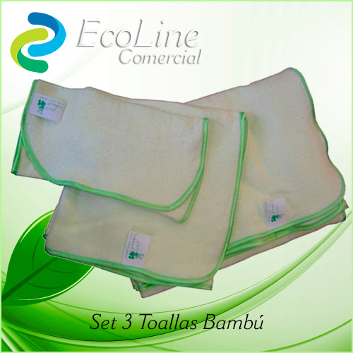 Productos Aseo Personal y Baño Toallas Biofibra Bambú