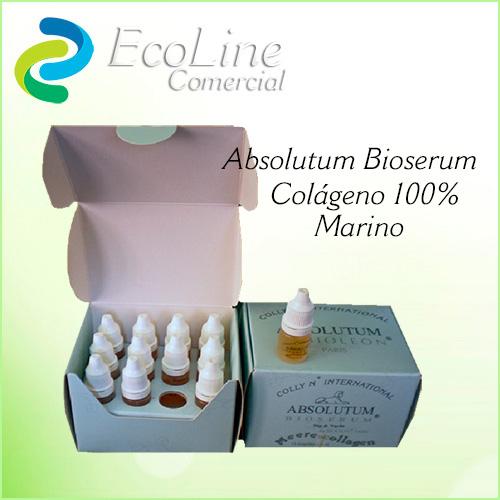 Productos Cosmética Natural Absolutum Bioserum Ampollas Colágeno  Marino
