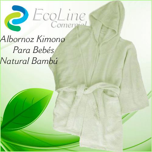 Productos Infantil Albornoz Kimono Para Niños Biofibra Natural De Bambú Ahora + Toallita de Aseo